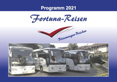 Fortuna Reisen Programm 2021